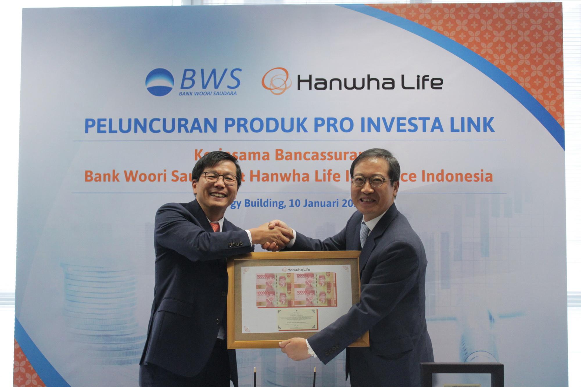 Hanwha Life dan Bank Woori Saudara Perluas Bisnis Melalui Jalur Distribusi Bancassurance